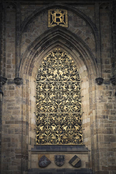 Photograph - Golden Tracery  by Maria Heyens