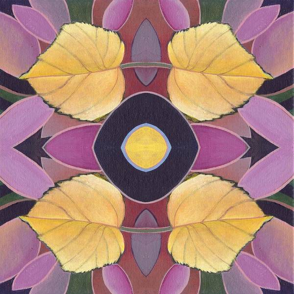 Painting - Golden V I I I  - The Joy Of Design X X I V Arrangement by Helena Tiainen