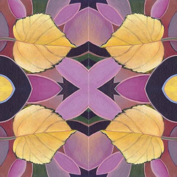 Painting - Golden V I I - The Joy Of Design X X I V Arrangement by Helena Tiainen