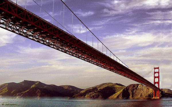 Photograph - Goldengate Bridge San Francisco by Bob and Nadine Johnston