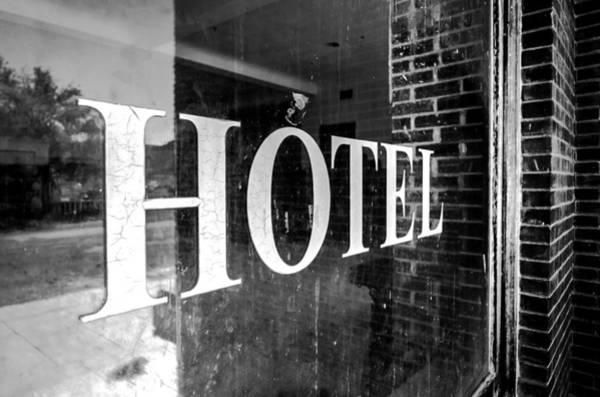 Photograph - Goldfield Hotel Window by Cat Connor