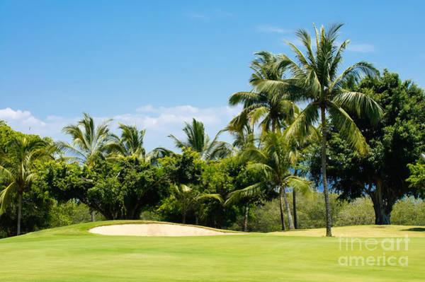 Golf Green Photograph - Golf Course by Aged Pixel
