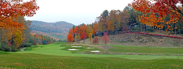 Photograph - Golf Course At Lake Toxaway by Duane McCullough