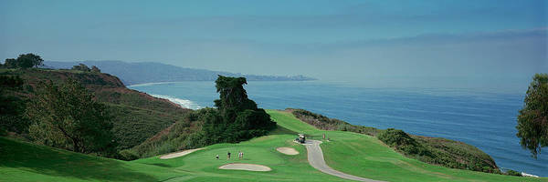 Peacefulness Photograph - Golf Course At The Coast, Torrey Pines by Panoramic Images