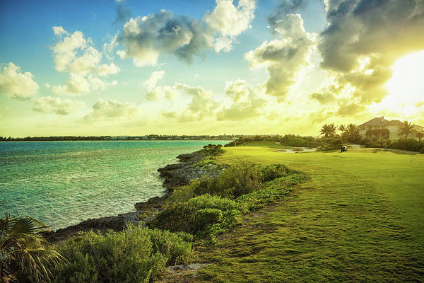Horizontal Landscape Photograph - Golf Course by Chang