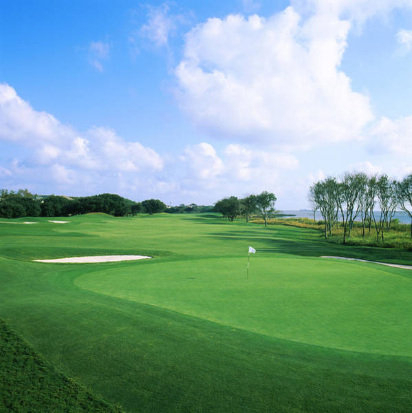 Corolla Photograph - Golf Course, Currituck Club, Corolla by Panoramic Images