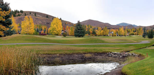 Golf Course Photograph - Golf Course In Autumn by Kingwu