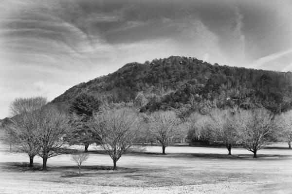 Photograph - Golf Course In Winter by Ben Shields