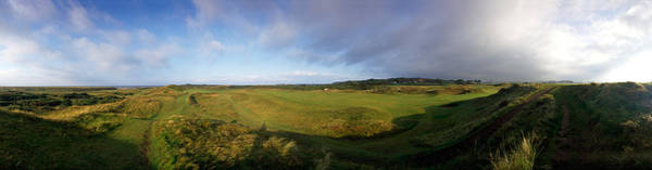 Ayrshire Photograph - Golf Course On A Landscape, Royal Troon by Panoramic Images