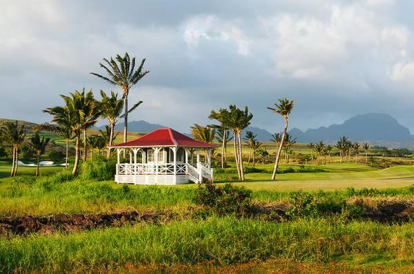 Golf Course On Poipu Shores Kauai Art Print