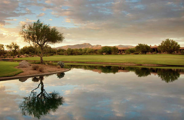 Golf Course Photograph - Golf Course Pond by Sarahneal