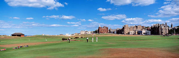 St Andrews Photograph - Golf Course, St Andrews, Scotland by Panoramic Images