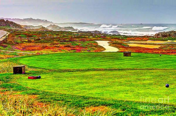 Wall Art - Photograph - Golf Tee At Spyglass Hill by Jim Carrell