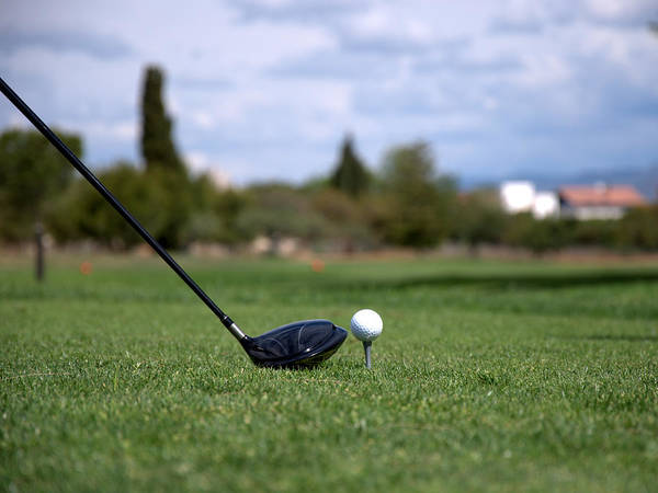 Golf Photograph - Golfclub And Ball by Miguel Sotomayor