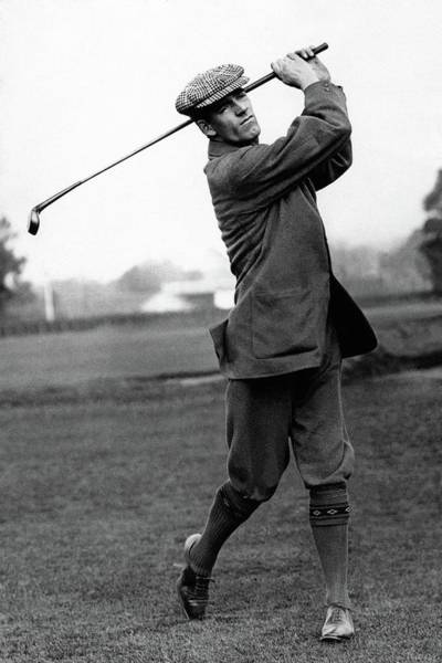 Golf Club Photograph - Golfer George Duncan by Artist Unknown