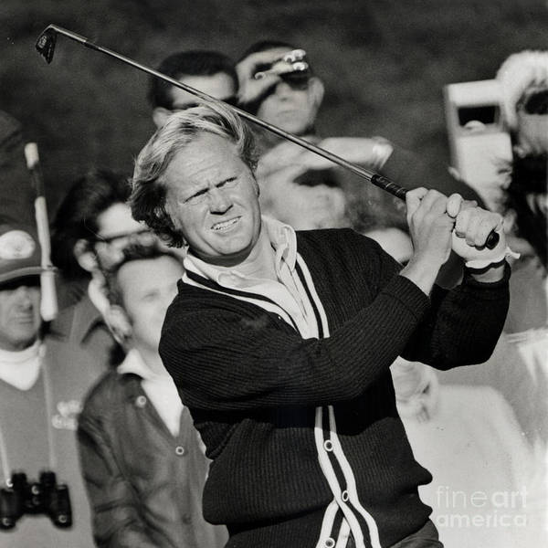 Photograph - Golfer Jack William Nicklaus Born January 21 1940 Nicknamed The Golden Bear by California Views Archives Mr Pat Hathaway Archives
