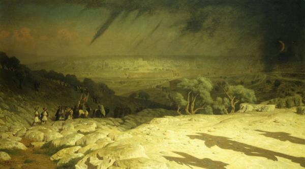 Sacrifice Painting - Golgotha by Jean Leon Gerome