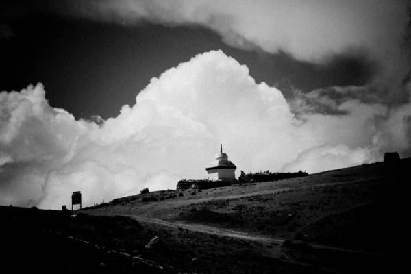 Photograph - Gompa Clouds In Tibet  by Raimond Klavins