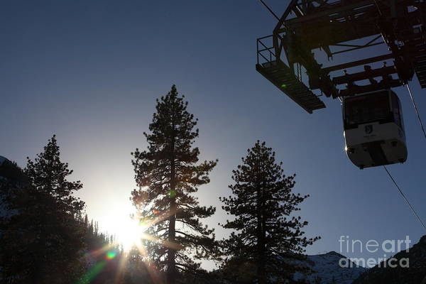 Photograph - Gondola At Squaw Valley Usa 5d27687 by Wingsdomain Art and Photography