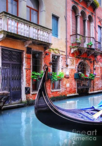 Photograph - Gondola In Venice 2 by Mel Steinhauer