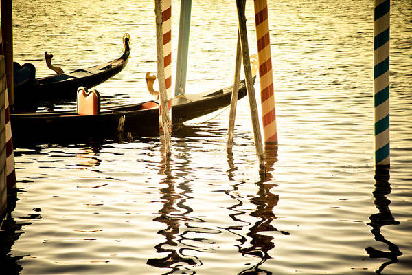Photograph - Gondola Parking by Melinda Ledsome