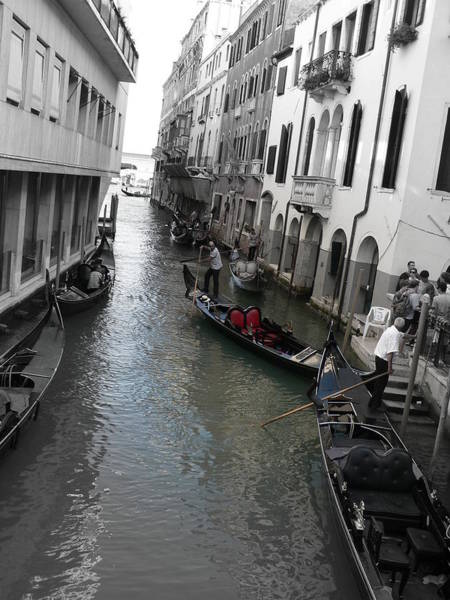 Photograph - Gondolier by Laurel Best