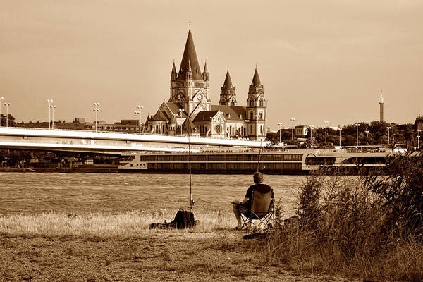 Photograph - Gone Fishing In Vienna by Menega Sabidussi