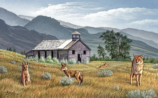 Wall Art - Painting - Gone To The Dogs by Paul Krapf
