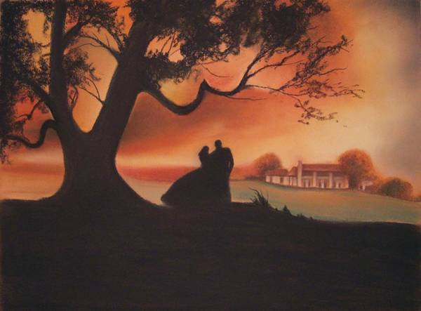 Wind Drawing - Gone With The Wind by Amani Warrington