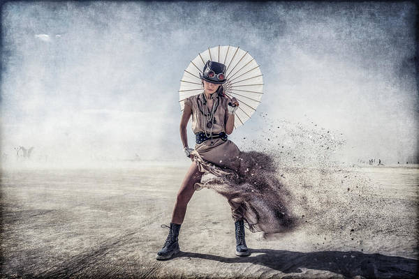 Filter Photograph - Gone With The Wind by Gilles Bonugli Kali