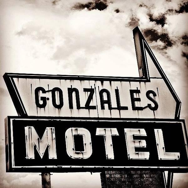 Wall Art - Photograph - Gonzales Motel by Scott Pellegrin