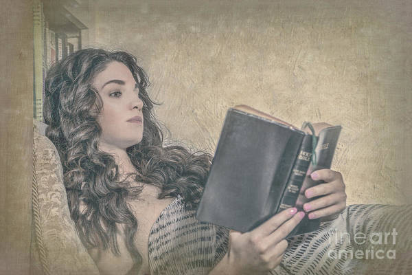 Woman Reading Wall Art - Photograph - Good Book by Evelina Kremsdorf