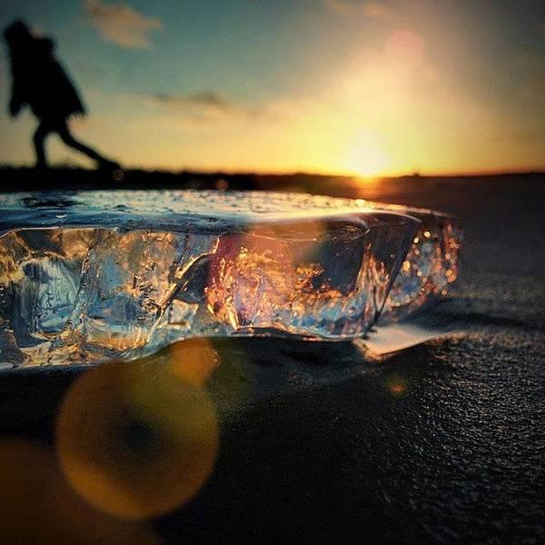 Beautiful Sunrise Wall Art - Photograph - Good Bye by Raimond Klavins