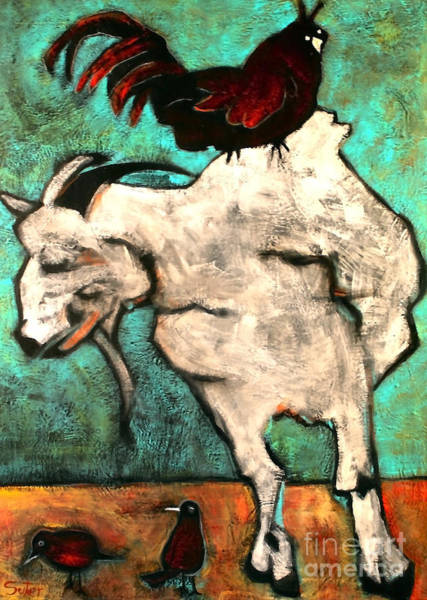 Painting - Good Company by Cindy Suter