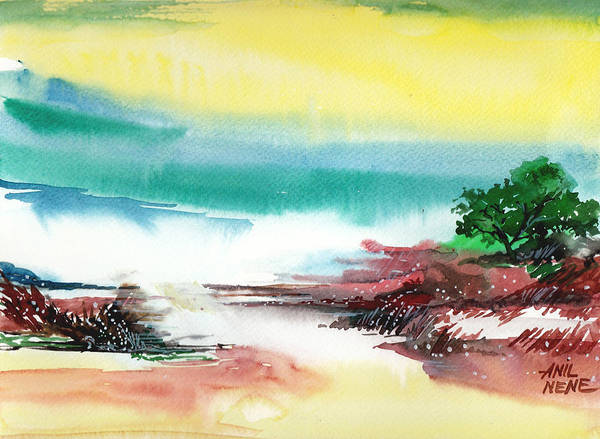 Painting - Good Evening by Anil Nene