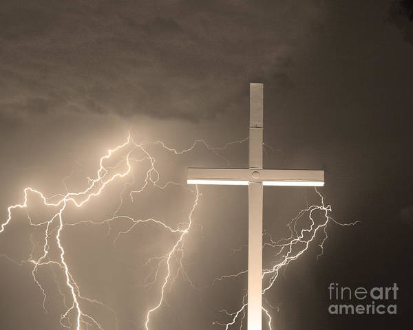 Photograph - Good Friday In Sepia by James BO Insogna