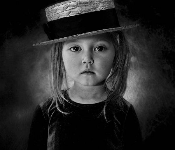 Kid Photograph - Good Girl by Svetlana Melik-nubarova