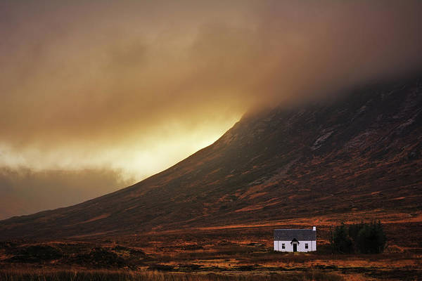 Farmhouse Photograph - Good Morning Glencoe by Milos Lach