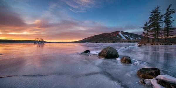 Photograph - Good Morning Pleasant Mountain by Darylann Leonard Photography