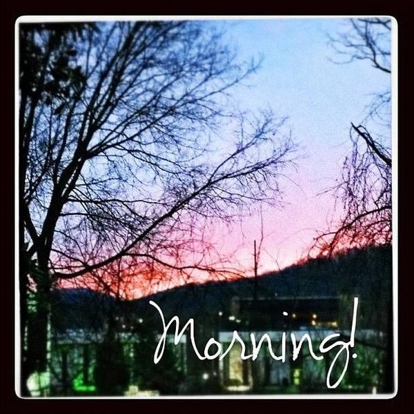 Beautiful Sunrise Wall Art - Photograph - Good Morning! #sunrise #morning by Teresa Mucha