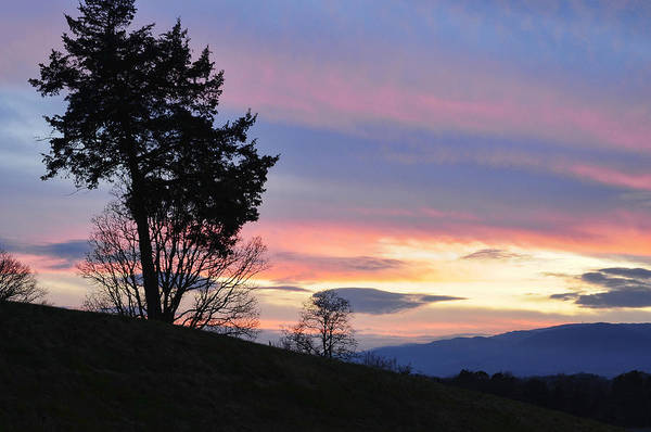 Photograph - Good Night Blue Ridge by Lara Ellis