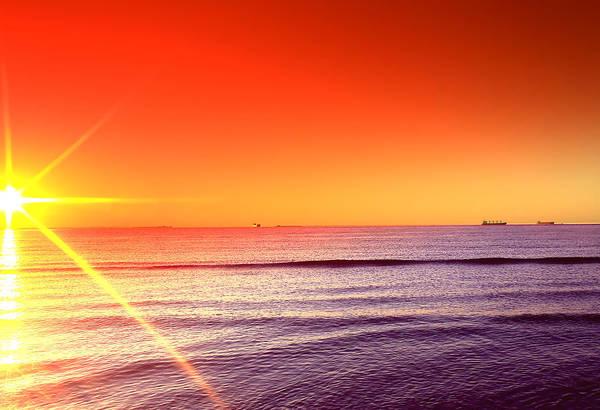 Photograph - Good Night Sun by Pete Federico