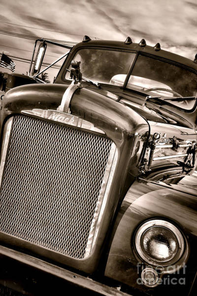 B61 Wall Art - Photograph - Good Old Mack by Olivier Le Queinec