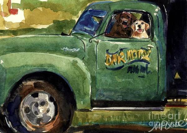 Truck Painting - Good Ole Boys by Molly Poole