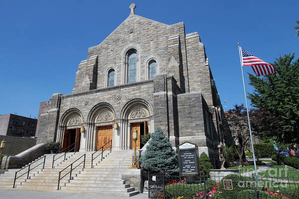 Photograph - Good Shepherd R C Church by Steven Spak