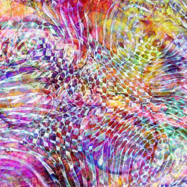 Digital Art - Good Vibrations by Barbara Berney