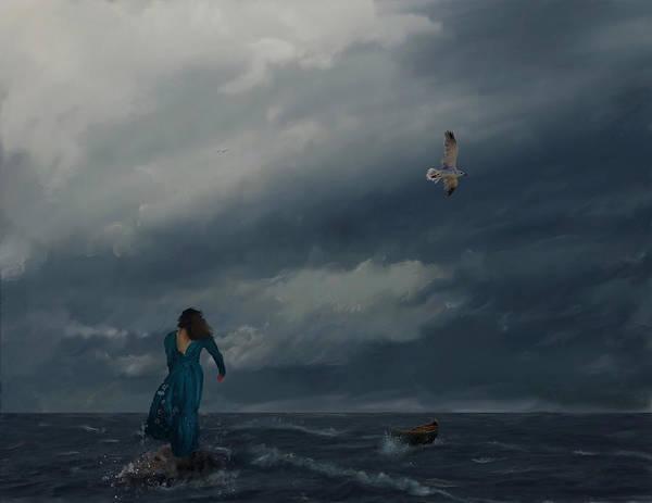 Goodbye Esmeralda Art Print by Hazel Billingsley