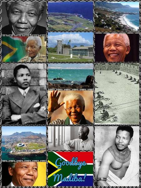 Digital Art - Goodbye Madiba by Karen Buford