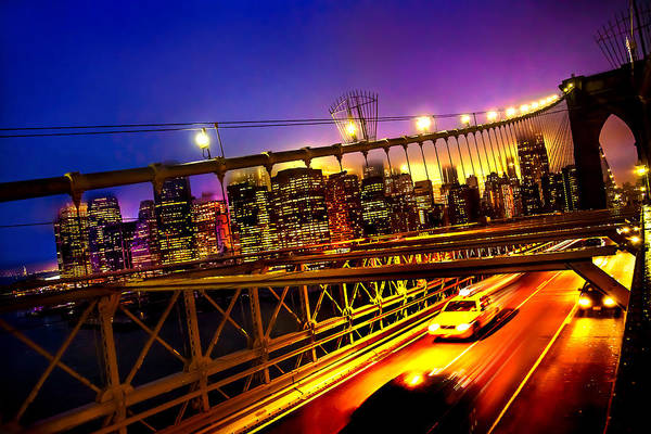American Cars Photograph - Goodbye New York City by Az Jackson