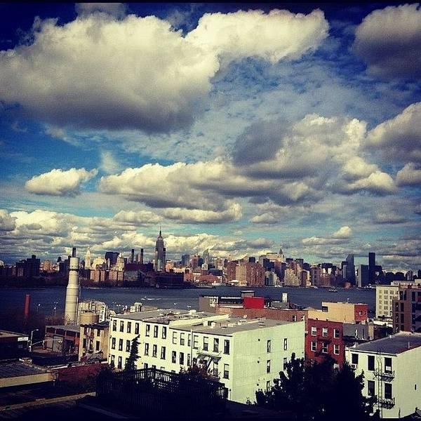 Gotham Wall Art - Photograph - #goodmorning #manhattan #newyork by Esther Montoro